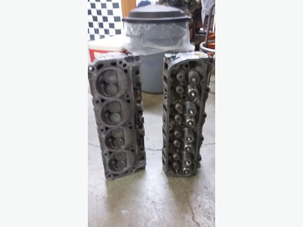 302 ford marine cylinder heads-fresh (350 bucks obo)