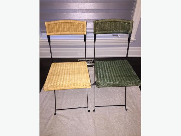 Folding Bistro Chair Set
