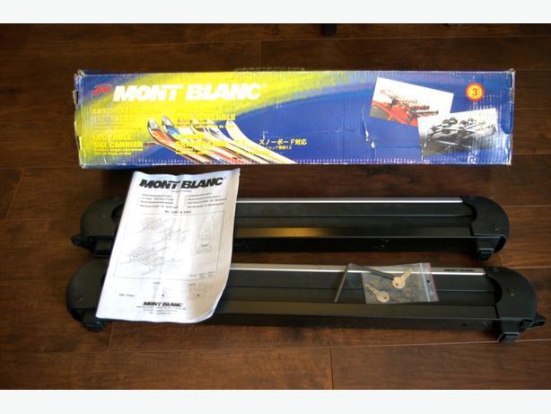 Mont Blanc Car Ski/Snowboard Racks 539C