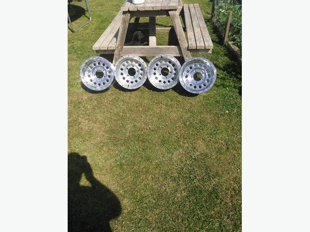 5 stud half ton aluminum off road rims