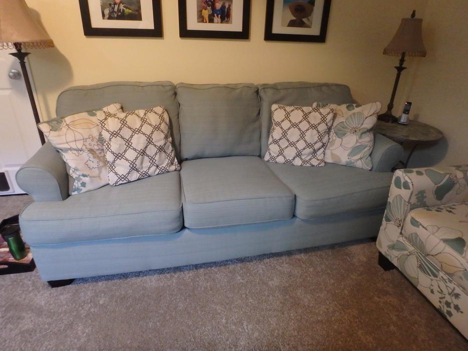 Ashley Furniture Sofa Chair And Large Ottoman Kanata Ottawa