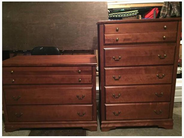 2 beautiful dressers