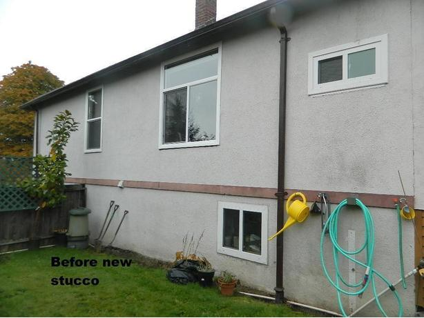 Stucco and parging  & painting