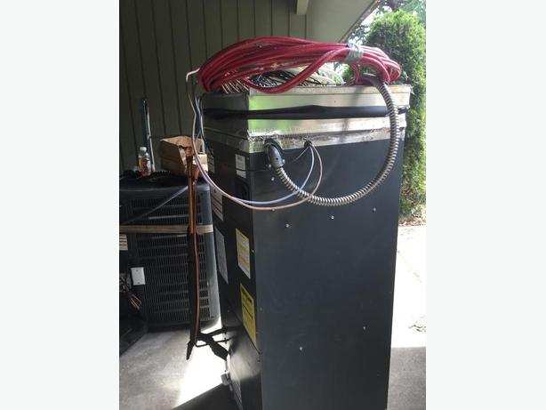 2012 Heat Pump Air Handler complete w thermostat