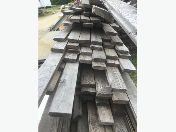 1.5 X 5 INCH fir flooring/decking tongue and groove long boards