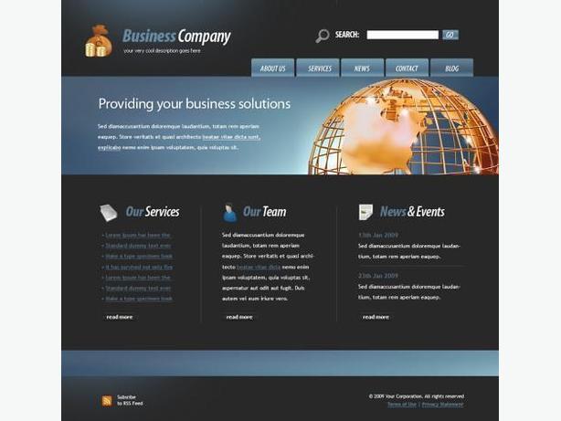 Creation of Internet websites