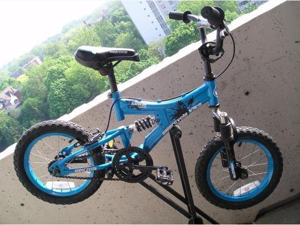 Supercycle Kidz 560 ds, 14 inch (wheel) 1-speed with coaster & hand brake