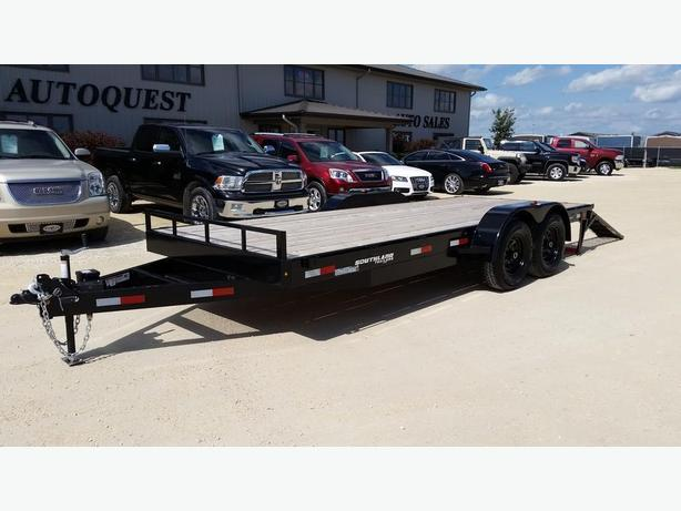 2017 Southland 18ft. Tandem Axle Trailer with Fold-Up Ramps - 14000K