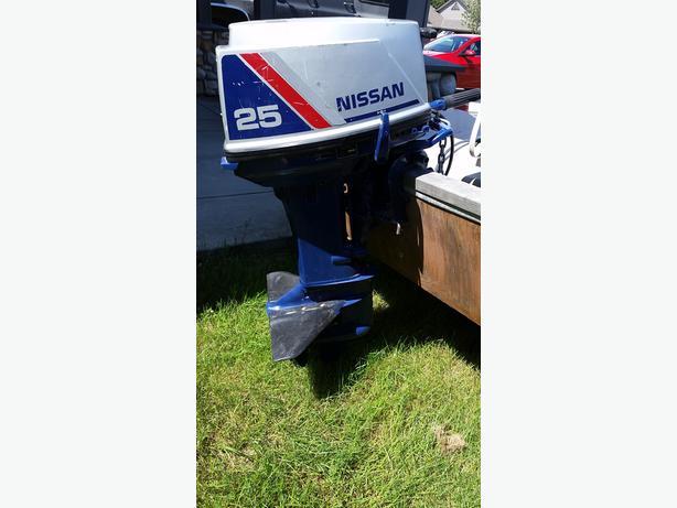 25hp Nissan Outboard 995obo Comox Courtenay Comox