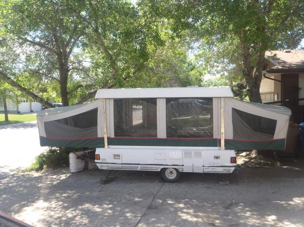 1994 Fleetwood Coleman Sequoia Tent Trailer South Regina