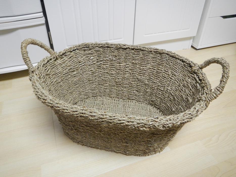 Basket Weaving Peterborough : Beautiful weave basket with handles gloucester ottawa