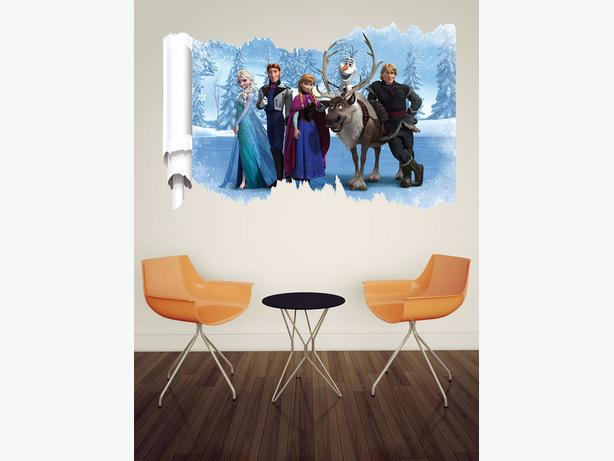 4 Brand New 3D Frozen Wall Stickers - $10 each
