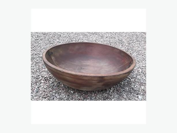 Antique Wooden Butter or Dough Bowl