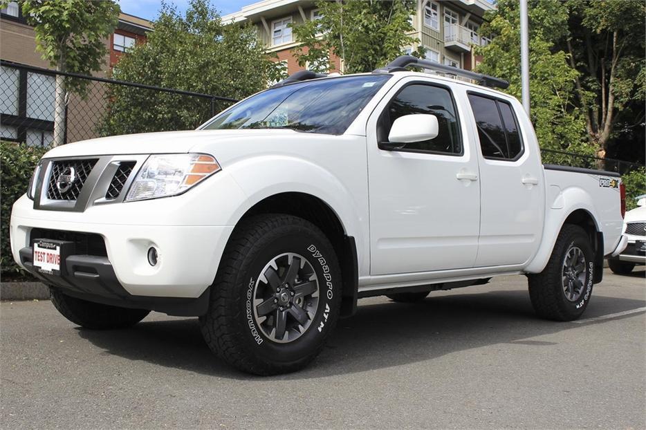 2016 Nissan Frontier Pro 4x Crew Cab Victoria City Victoria