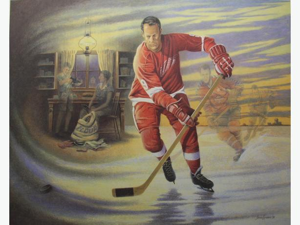 Mr. Hockey - Gordie Howe - James Lumbers (NEW PRICE)