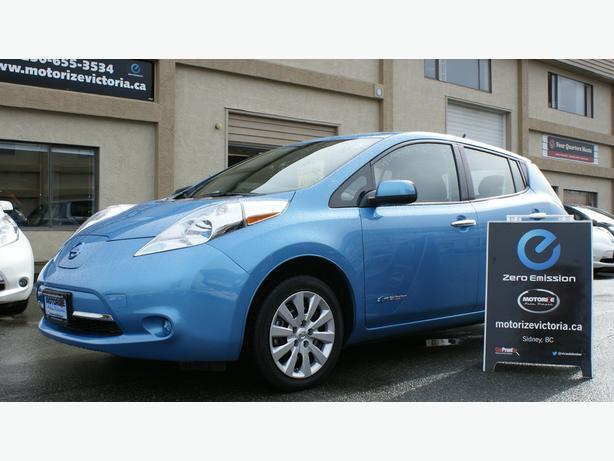 2013 Nissan LEAF S – Heated Seats – 48,191Km