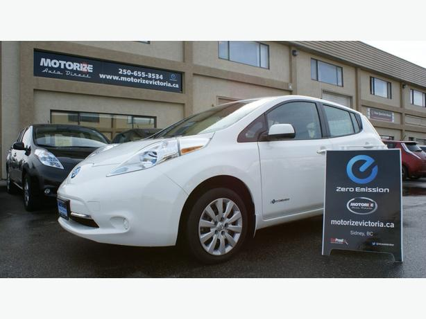 2013 Nissan LEAF S – Heated Seats Pkg – 58,271 Kms