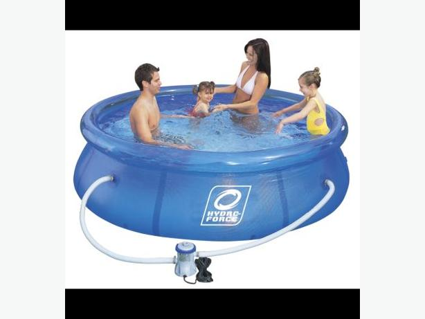 Hydro force soft sided swimming pool saanich victoria for Swimming pool service software
