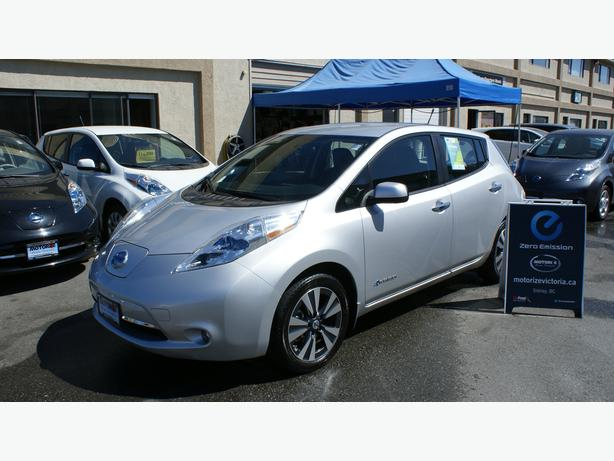 2013 Nissan LEAF SL – BOSE & Around View + Quick Charge Pkg – 34,743Kms