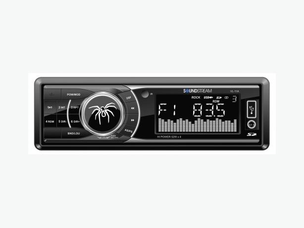 SOUNDSTREAM CAR AUDIO Digital Audio Receiver w/ AM/FM & SD/USB