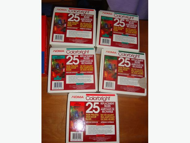 Brand New Christmas Lights Indoor Outdoor - $3 for each box or $25 for all