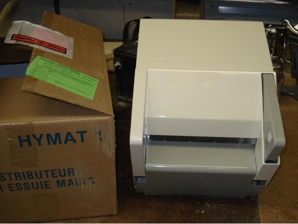 Brand New, Hymat Paper Towel Dispenser.