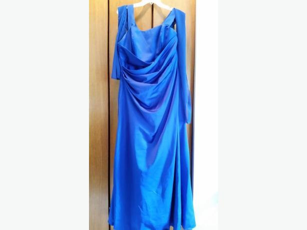 Colbalt Blue Alfred Angelo Dress