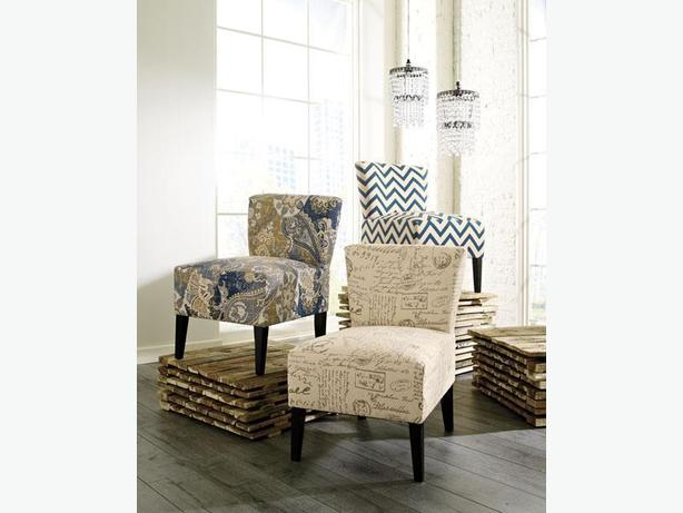 New Ravity Accent Chairs