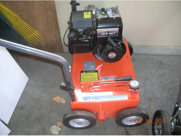 Husqvarna Commercial Power Raker