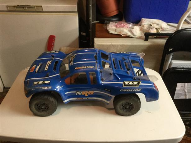 Losi 4x4 With TLR racing chassis