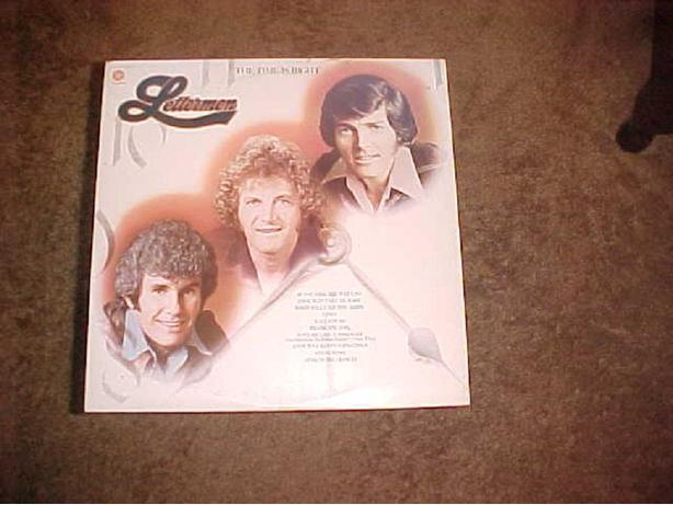 LETTERMEN THE TIME IS RIGHT VINYL LP