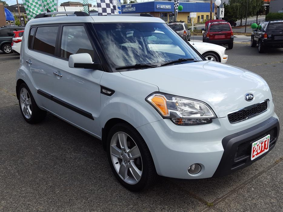 Kia Soul 4u Fwd Automatic Outside Comox Valley Courtenay