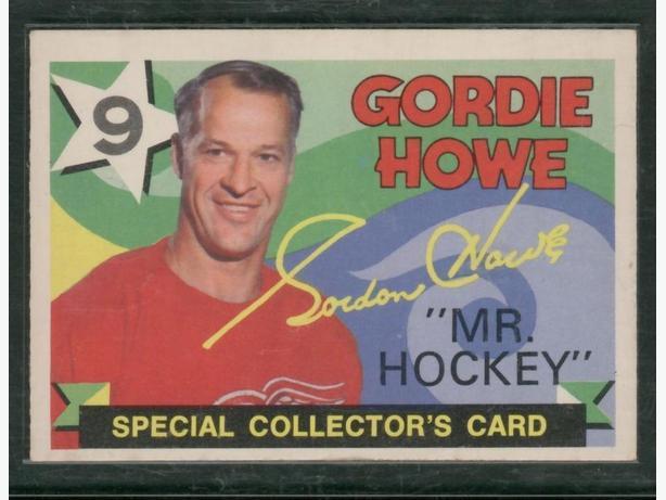 71-72 O Pee Chee #262 Gordie Howe Mr. Hockey Red Wings