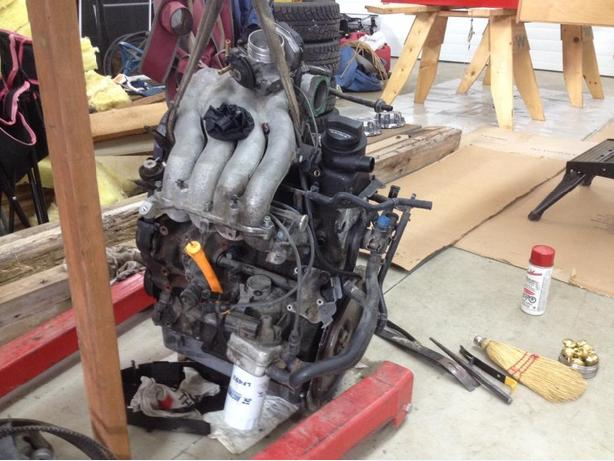 2 liter VW engine
