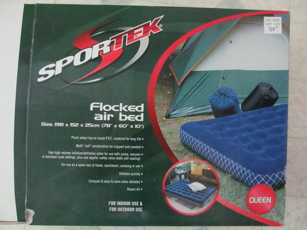Sportek Queen Air Bed with Pump