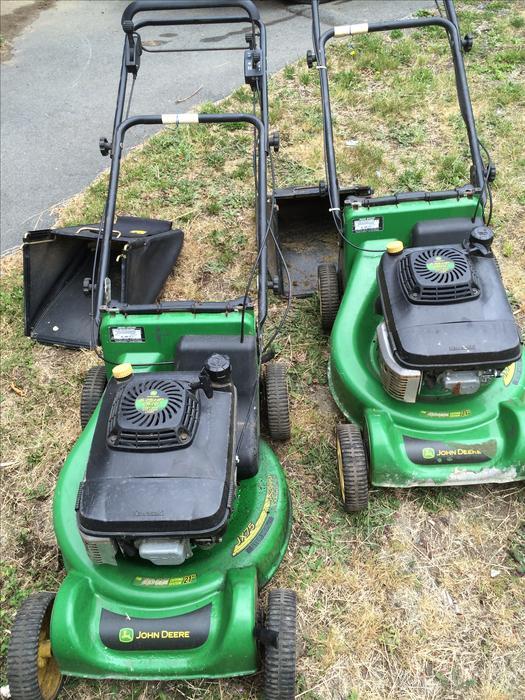 John Deere Mower Replacement Bags : John deere jx self propelled lawn mowers outside