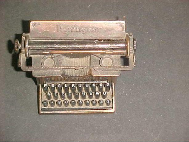 TYPEWRITER PENCIL SHARPENER