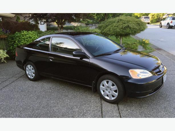 2002 honda civic coupe lx with extras north vancouver. Black Bedroom Furniture Sets. Home Design Ideas