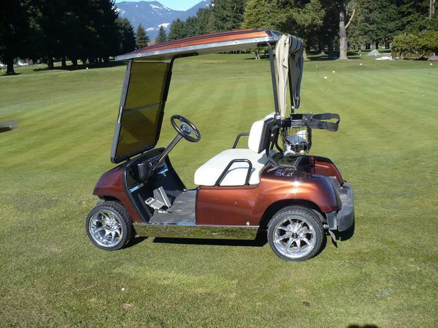 custom yamaha golf cart