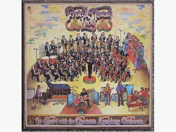 Procol Harum LP In Concert With The Edmonton Symphony Orchestra