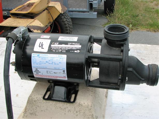 wet pump