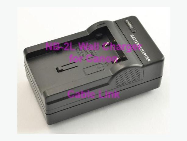 Battery Charger NB2L NB-2L for Canon Rebel, PowerShot
