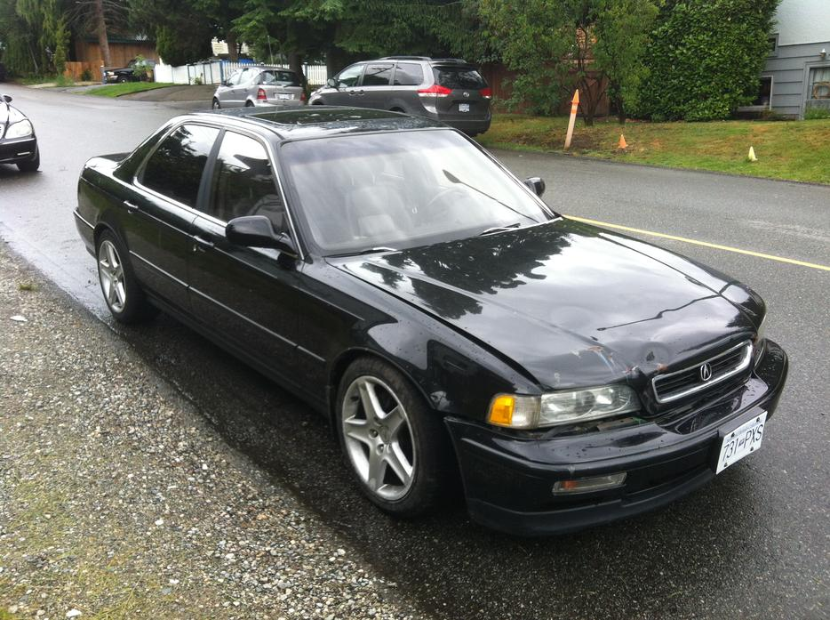 91 Acura Legend Outside Comox Valley Campbell River