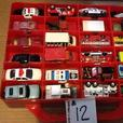 Hotwheels, Matchbox, Maestro and other diecast car collection in carry case