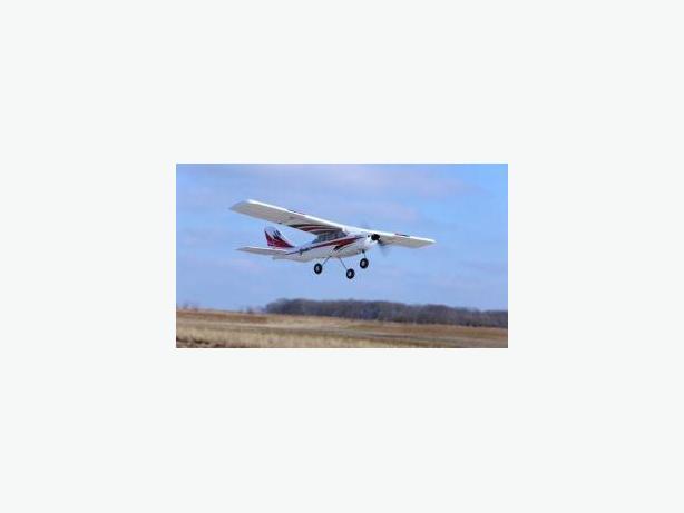 rc real flight plane