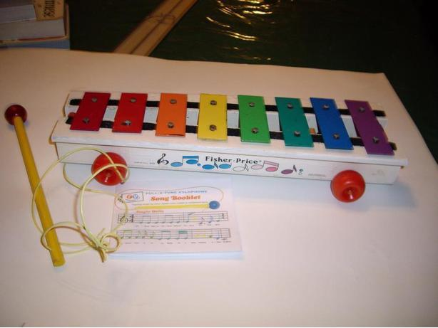 FISHER PRICE VINTAGE XYLOPHONE