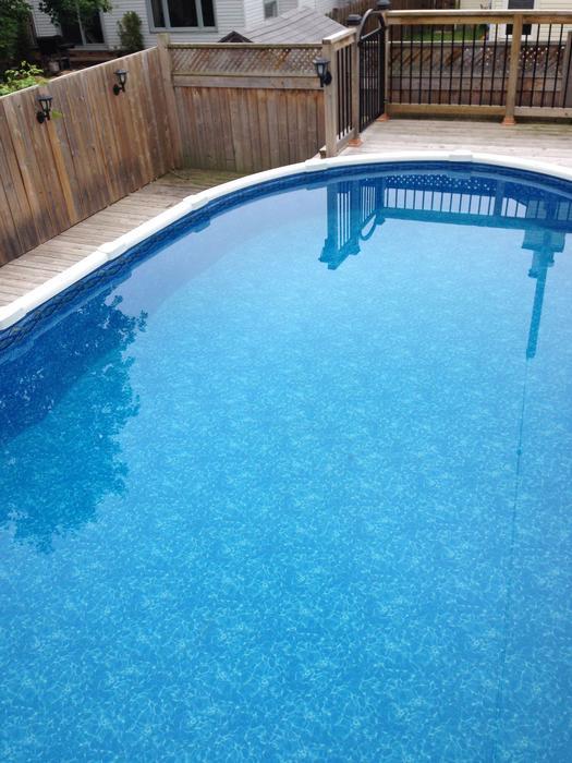 12x23 54 Inch Zodiac Oceania Salt Water Pool Nepean Ottawa