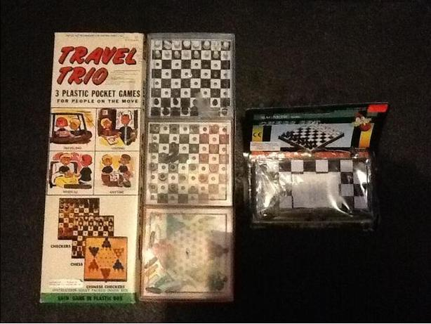 Travel Trio and New Magnetic Chess