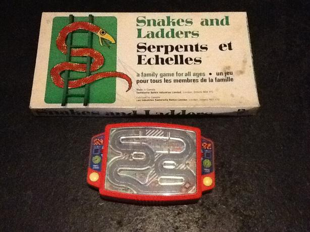 Snakes & Ladders Game plus Car Driving Game