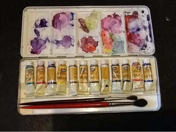 Small Water Color Paint Set